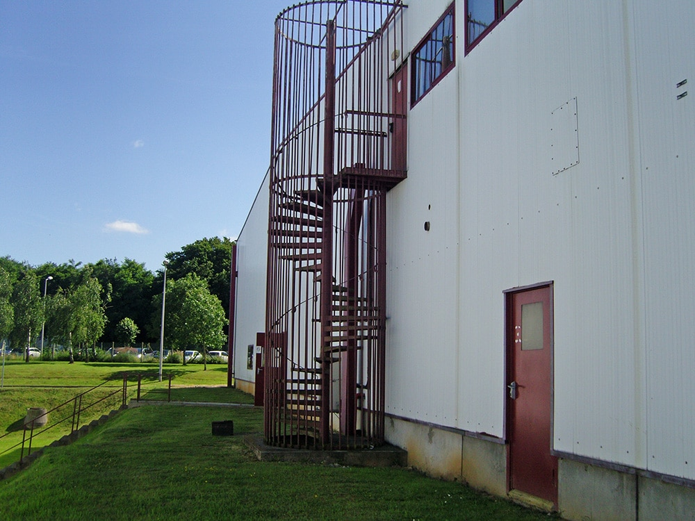 Escalier de secours métal