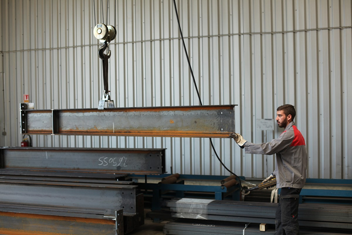 Ouvrier métallerie