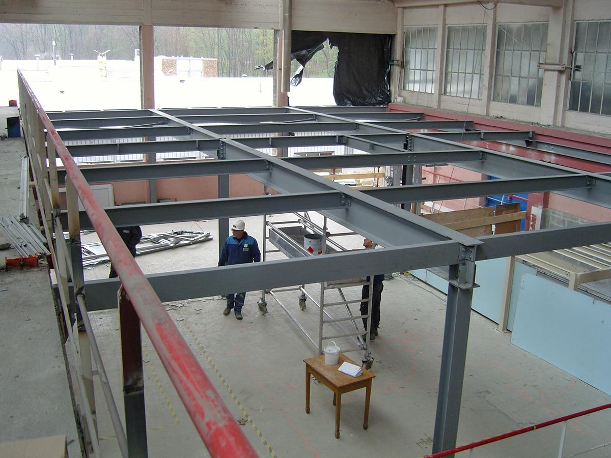 construction métal bâtiment