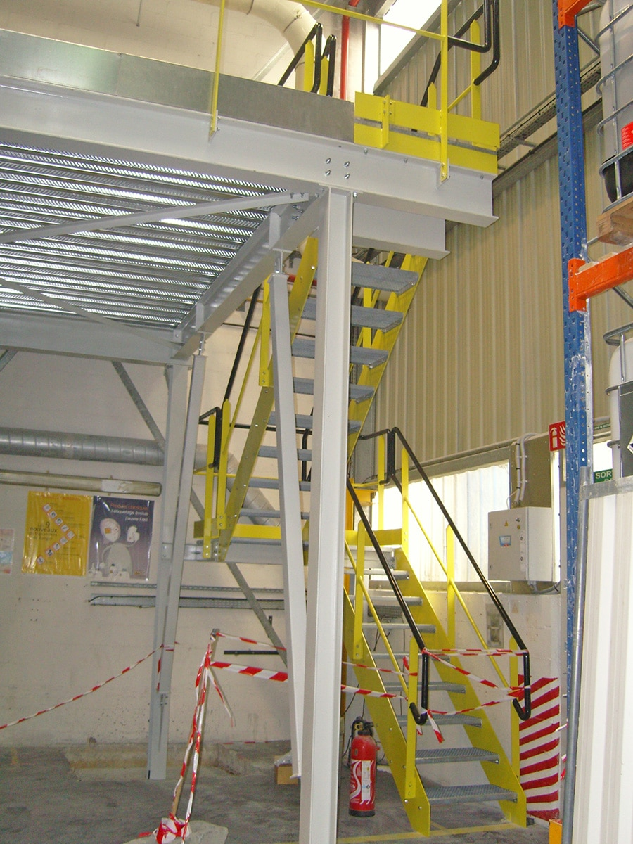 Création escalier métal