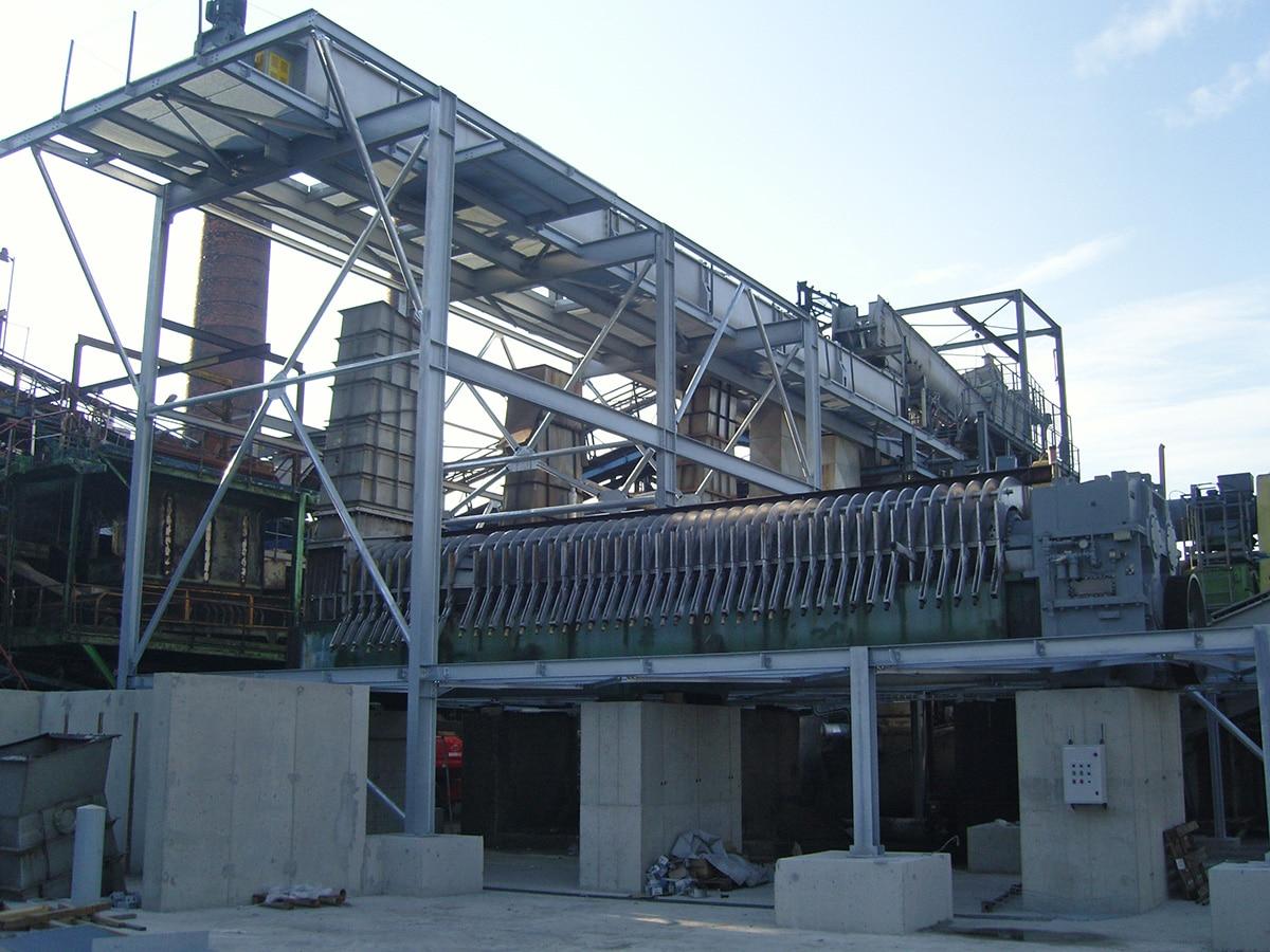 Construction métal pour l'industrie